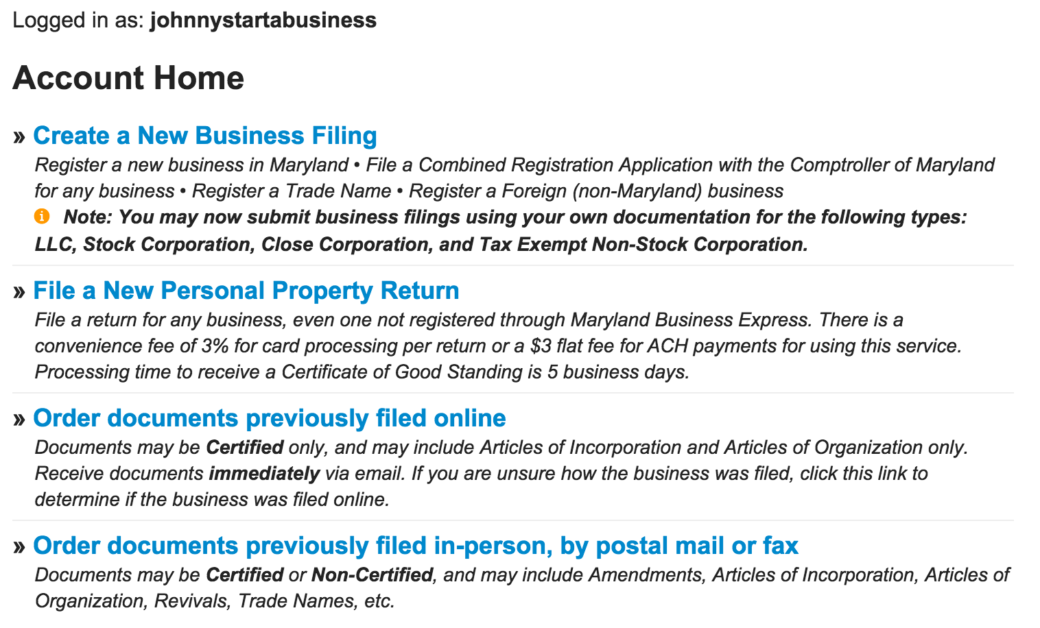 How To Start A Domestic Llc In Maryland Articles Ofanization